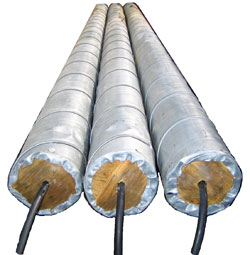 "Canister Anode – 1.5"" x 60""L Iron Anode in a 4"" x 96""L Can w/ Backfill & 20′ of #8 HMW/PE Cable"