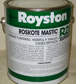 Roskote R28 – Rubberized Mastic
